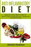 img - for Anti-Inflammatory Diet: Beginner's Guide: What You Need To Know To Heal Yourself with Food + Recipes + One Week Diet Plan (Weight Loss Plan Series) (Volume 6) book / textbook / text book