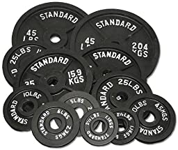 245 lb. Olympic Weight Set