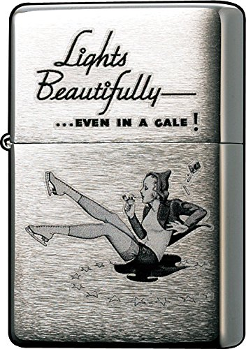 Zippo Brushed Chrome Vintage Windproof Lighter 0