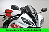 Double bubble screen Puig Yamaha YZF R6 08-13 dark smoke
