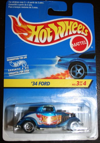 '34 Ford No. 3 of 4 1996 Mattel