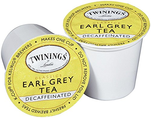 Twinings Earl Grey Decaf Tea K-Cup, 24 Count (Earl Tea Keurig compare prices)