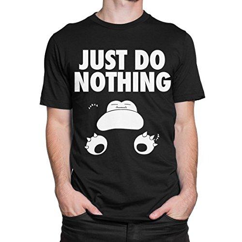 Just-do-nothing-Ronflex-T-Shirt-Camiseta