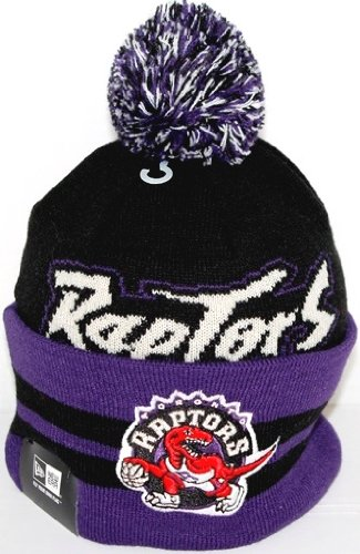 Sale alerts for New Era Toronto Raptors New Era NBA Wide Point Throwback Cuffed Knit Hat - Covvet