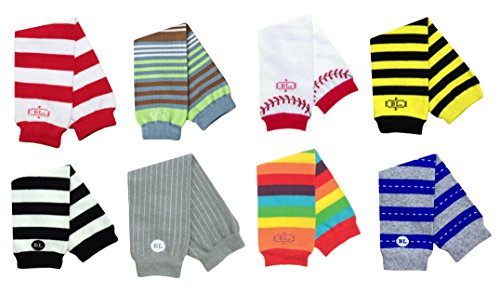 Boy Babylegs Baby Leg Warmers (Set of 8) Wholesale - 1