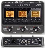 ZOOM マルチエフェクター/アンプシミュレーターGuitar Effects & Amp Simulator G3 ズーム G3-ZOOM