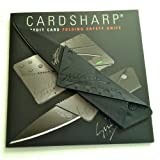 Iain Sinclair 7223016412794 Cardsharp 2 Credit Card Sized Folding Knife with Black Blade