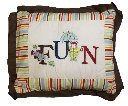 Kids Line My First ABC Throw Pillow, Multicolor