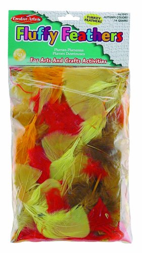 Charles Leonard Feathers - Turkey - Autumn Colors 14 Grams/Bag , 63045