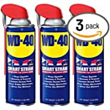 WD-40 12oz. Aerosol Can with Smart Straw (3-Pack)