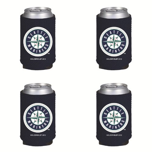 MLB Seattle Mariners Can Koozie 4 pack at Amazon.com