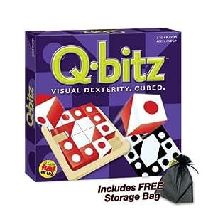 Q-bitz Visual Dexterity. Cubed with FREE Storage Bag
