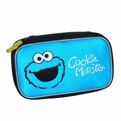 Sesame Street Cookie Monster Soft Case - DS, DSi, DSi XL