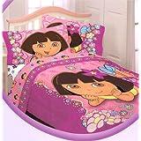 Dora the Explorer Flower Patch Twin Comforter Reversible ~ Nickelodeon