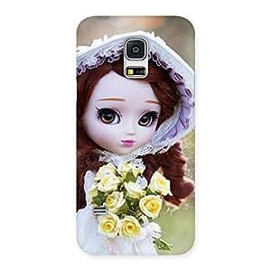 Premium Bride Angel Doll Multicolor Back Case Cover for Galaxy S5 Mini
