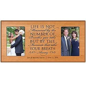 Wedding Gifts For Bride And Groom Amazon : Amazon.comWedding Gift, Wedding Photo Frame, Personalized wedding ...
