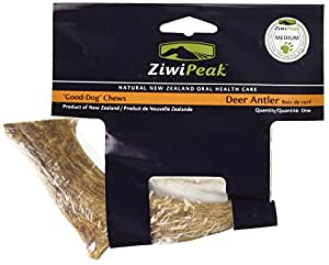 ZiwiPeak Antler Pet Chew Bone, Medium