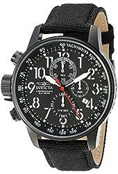 Invicta Men's 1517SYB I-Force Analog Display Quartz Black Watch