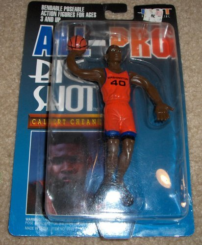 All Pro Calbert Cheaney Big Shot NBA Bendable Figure by Starting Line Up