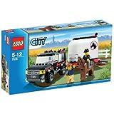 Lego - 7635 - Jeu de construction - Lego City - Le transport de chevaux