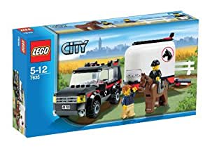 Lego - 7635 - Jeu de construction - Lego City - Le transport de chevaux
