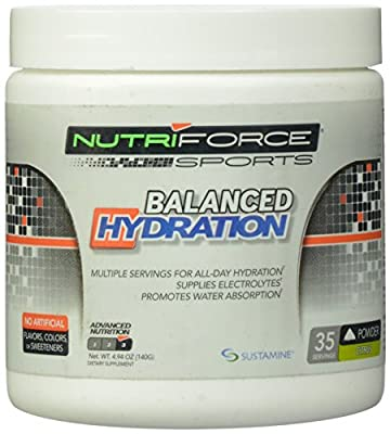 Nutriforce - Balanced Hydration - CITRUS (4.94 Ounce)
