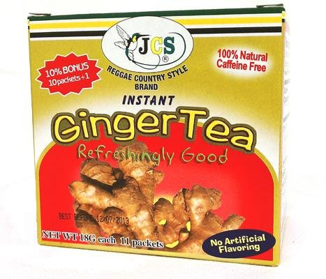 Jcs Instant Ginger Tea (11 Packets)