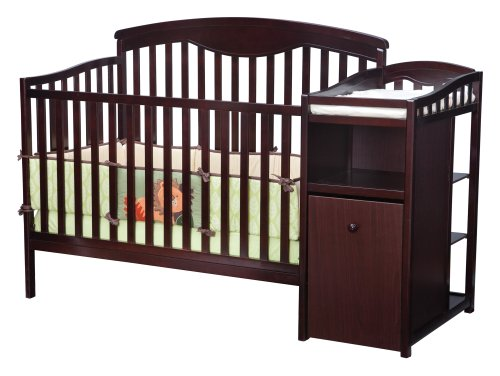 Delta Shelby Classic Crib And Changer, Espresso