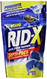 RID-X Septic Tank System Treatment, 3-Dose Dual Action Septi-Pacs, 3.2 Ounce