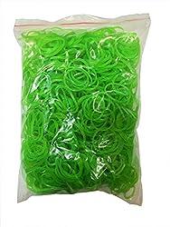 Flexi Rubber Bands Green - 3/4 inch Diameter - 1200 pcs
