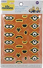Wilton 710-4600 24 Count Despicable Me Minions Icing Decorations Multicolor