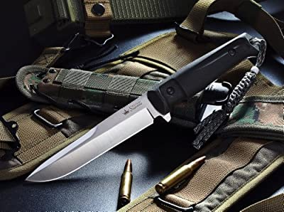 Kizlyar KK0004 Alpha D2 Russian Made Tactical Knife, Satin from CAS HANWEI :: Combat Knife :: Tactical Knife :: Hunting Knife :: Fixed Blade Knife :: Folding Blade Knife