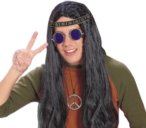 Rubie's Costume Feeling Groovy Male Hippy Accessory Kit, Multicolored, One Size