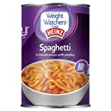 Heinz Weight Watchers Spaghetti in Tomato Sauce 400 g (Pack of 24)