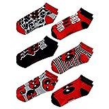 Marvel Deadpool Chibi 6 Pack Ankle Socks