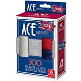 Cartamundi 1510 Ace Plastic Poker Chips 100 Count