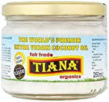 Tiana Organic Virgin Coconut Oil 250 ml (Pack of 2)