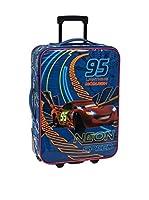 DISNEY Trolley semirrígido Cars Neon 55 cm (Azul)