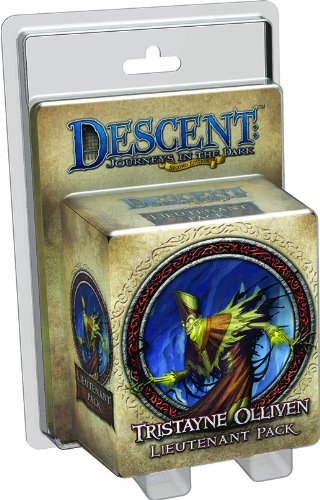 Descent Second Edition: Tristayne Olliven Lieutenant Pack
