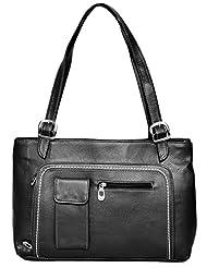 Rehan's Women's Handbag (RL2180, Black)