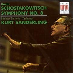 Shostakovich, D.: Symphony No. 8 (Berlin Symphony, K. Sanderling)