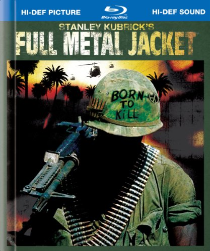 Cover art for  Full Metal Jacket (25th Anniversary Edition) [Blu-ray]