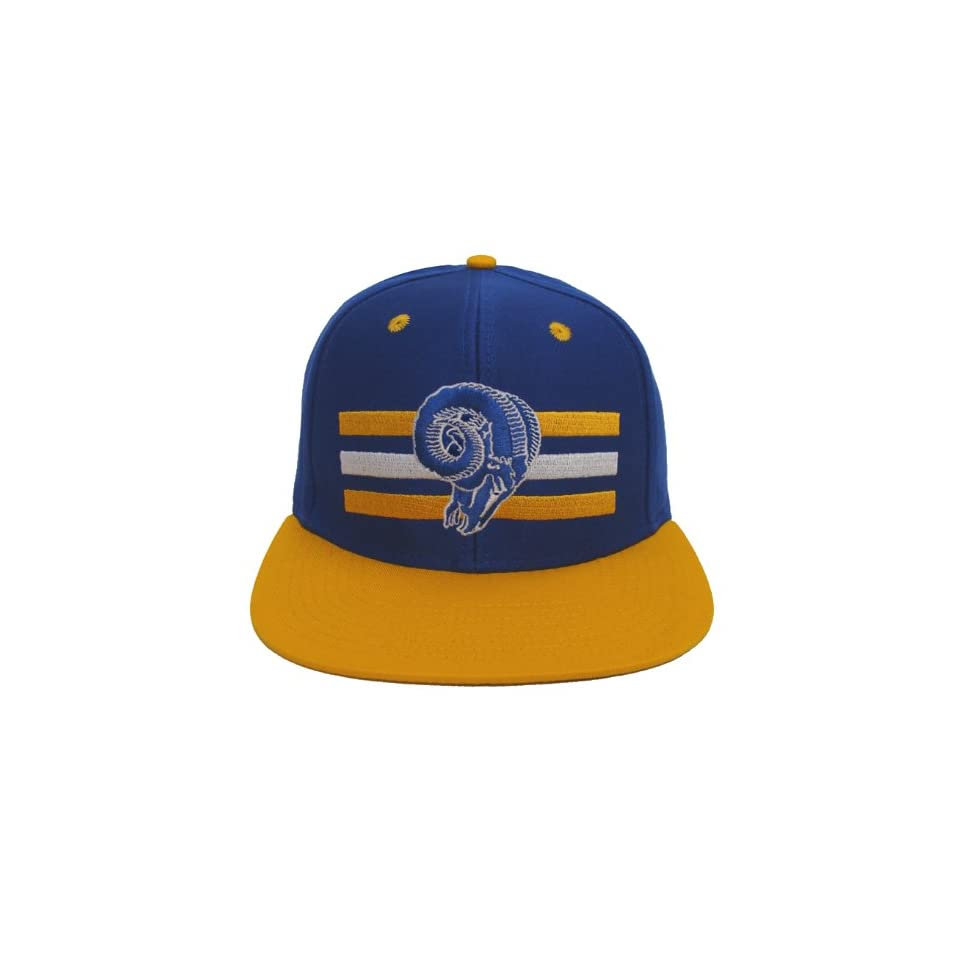 8c6d6f905dc St. Louis Rams Mitchell   Ness Block Retro Snapback Cap Hat WB on ...