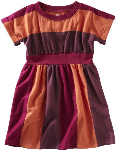 Tea Collection Girls 2-6x Ancho Chile Stripe Dress