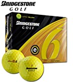 Bridgestone Precept 2011 e6 Optic Yellow 1-Dozen Golf Balls