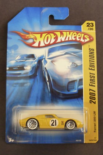 Ferrari 250 LM Yellow Hot Wheels (2007 First Editions) - 1