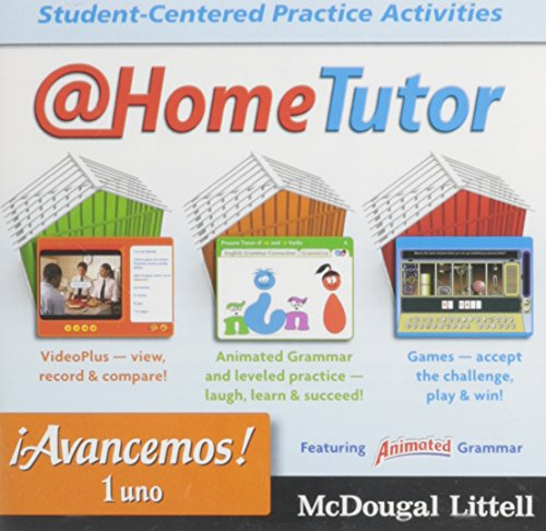 ?Avancemos!: At Home Tutor Levels 1A/1B/1 (Spanish Edition)