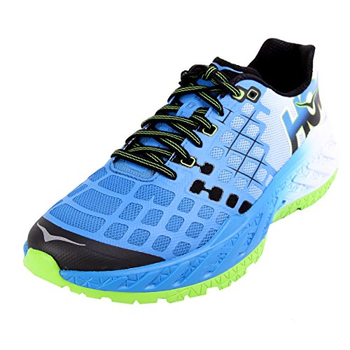 Hoka One One Clayton Bright Green French Blue 43