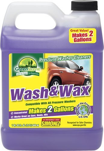 Green Scene Wash and Wax (Simoniz Pressure Washer compare prices)