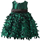 Blueberi Boulevard Baby Girls Infant Leaf Dress